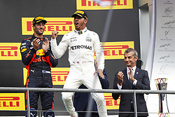 August 27, 2017 - Spa-Francorchamps, Belgium - Motorsports: FIA Formula One World Championship 2017, Grand Prix of Belgium, ..#44 Lewis Hamilton (GBR, Mercedes AMG Petronas F1 Team) (Credit Image: © Hoch Zwei via ZUMA Wire)