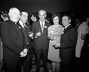 20/04/1970<br /> 04/20/1970<br /> 20 April 1970<br /> Tynagh Mines Dinner Dance at Loughrea, Co. Galway. Very Rev. Fr. O'Callaghan Parish Priest (P.P.) Loughrea; George Hoolihan, Loughrea; Malachy Daly, Tynagh; Mrs Hoolihan and Dick Geary, Tynagh.