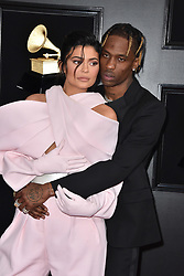 Kylie Jenner, Travis Scott attend the 61st Annual GRAMMY Awards at Staples Center on February 10, 2019 in Los Angeles, CA, USA. Photo by Lionel Hahn/ABACAPRESS.COM