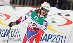 18.02.2011, Kandahar, Garmisch Partenkirchen, GER, FIS Alpin Ski WM 2011, GAP, Herren, Riesenslalom, im Bild Ondrej Bank (CZE) // Ondrej Bank (CZE) during men's Giant Slalom Fis Alpine Ski World Championships in Garmisch Partenkirchen, Germany on 18/2/2011. EXPA Pictures © 2011, PhotoCredit: EXPA/ J. Groder