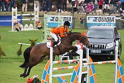 Roosendaal Maud (NED) - Veni Vidi Vici<br /> European Championship Poney - Fontainebleau 2012<br /> © Dirk Caremans