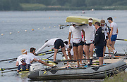Caversham, Nr Reading, Berkshire.<br /> <br /> Boating from the pontoon. Olympic Rowing Team Announcement morning training before the Press conference at the RRM. Henley.<br /> <br /> Thursday  09.06.2016<br /> <br /> [Mandatory Credit: Peter SPURRIER/Intersport Images] 09.06.2016,