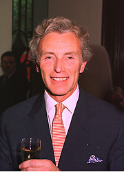 Hotelier MR GORDON CAMPBELL GRAY, at a party in London on 9th July 1998.<br /> MIZ 11