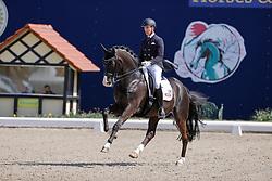 HAGEN a.T.W. - Horses and Dreams meets Japan Sports Edition 2021<br /> <br /> WERNDL Benjamin (GER), Daily mirror 9<br /> CDI 4* Grand Prix<br /> Qualifikation für Grand Prix Special<br /> Preis des Gestütes Vorwerk<br /> <br /> Hagen a.T.W., Hof Kasselmann<br /> 23. April 2021<br /> © www.sportfotos-lafrentz.de/Stefan Lafrentz