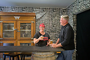 Adam and Jennifer Gregory, owners of Dragon's Gate Brewery