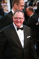 John Lasseter at the gala screening for the film Inside Out at the 68th Cannes Film Festival, Monday May 18th 2015, Cannes, France