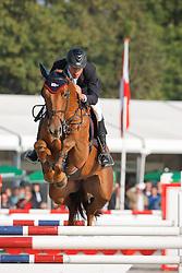 Van Asten Mathijs (NED) - Epleaser van't Heike<br /> World Championship Young Horses Lanaken 2009<br /> Photo© Dirk Caremans