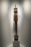 Alberto Giacometti (1901 - 1966), Femme de Venise V, Woman of Venice V, 1956, Bronze with brown and green patina,At the Goulandris Museum of Contemporary Art is a modern art museum in Eratosthenous Street, Pangrati, Athens, Greece, opened in October 2019.