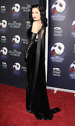 Dita von Teese during the Premiere of Phantom of the Opera, Hamburg, Germany, Thursday, 28th November 2013. Picture by  Schneider-Press / i-Images<br /> UK & USA ONLY