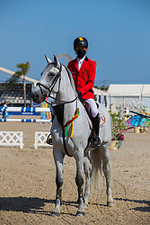 Spits Thibault, BEL, Classic Touch Dh<br /> FEI Jumping European Championships for Young Riders, Juniors, Children - Vilamoura 2021<br /> © Hippo Foto - Leanjo de Koster<br /> 20/07/2021