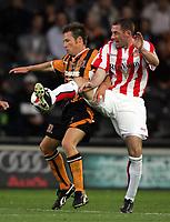 Fotball<br /> England 2005/2006<br /> Foto: imago/Digitalsport<br /> NORWAY ONLY<br /> <br /> 27.07.2005<br /> <br /> Stephen Wright (Sunderland, re.) gegen Nick Barmby (Hull)