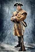 Revolutionary War militia man