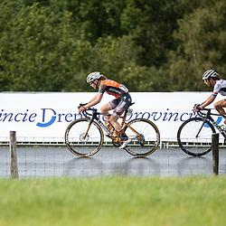 22-08-2020: Wielrennen: NK vrouwen: Drijber<br /> Anna van der Bruggen, Anouska Koster Anouska (Netherlands / Team Parkhotel Valkenburg)