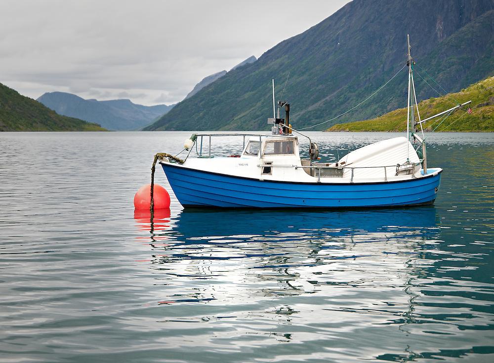 Norway - Boat in Langfjord
