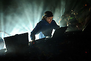 Photos of Gregg Gillis, AKA Girl Talk, performing at the Pageant in St. Louis on January 18, 2011