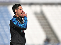 Huddersfield Town's Assistant Coach Jorge Alarcon<br /> <br /> Photographer Dave Howarth/CameraSport<br /> <br /> The EFL Sky Bet Championship - Huddersfield Town v Norwich - Saturday September 12th 2020 - The John Smith's Stadium - Huddersfield<br /> <br /> World Copyright © 2020 CameraSport. All rights reserved. 43 Linden Ave. Countesthorpe. Leicester. England. LE8 5PG - Tel: +44 (0) 116 277 4147 - admin@camerasport.com - www.camerasport.com