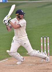 March 26, 2018 - Auckland, Auckland, New Zealand - Ben Stokes of England bats during Day Five of the First Test match between New Zealand and England at Eden Park in Auckland on Mar 26, 2018. (Credit Image: © Shirley Kwok/Pacific Press via ZUMA Wire)