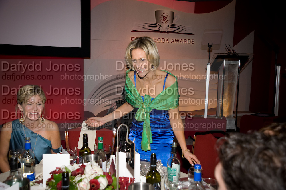 Andrea Catherwood; Emily Maitlis. The Costa Book of the Year Award at the Costa Book Awards. The Intercontinental Hotel, Hamilton Place. London. 27 January 2009 *** Local Caption *** -DO NOT ARCHIVE -Copyright Photograph by Dafydd Jones. 248 Clapham Rd. London SW9 0PZ. Tel 0207 820 0771. www.dafjones.com<br /> Andrea Catherwood; Emily Maitlis. The Costa Book of the Year Award at the Costa Book Awards. The Intercontinental Hotel, Hamilton Place. London. 27 January 2009