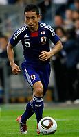Fotball<br /> Japan v England<br /> 30.05.2010<br /> Graz Østerrike<br /> Foto: Gepa/Digitalsport<br /> NORWAY ONLY<br /> <br /> FIFA Weltmeisterschaft 2010 in Suedafrika, Vorberichte, IFCS Trainingslager, Vorbereitung, Vorbereitungsspiel, Freundschaftsspiel, Laenderspiel, Japan vs England. <br /> <br /> Bild zeigt Yuto Nagatomo (JPN)