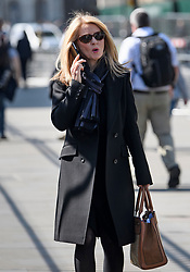 © Licensed to London News Pictures. 15/05/2019. London, UK. Former Secretary of State for Work and Pensions ESTHER MCVEY is seen in Westminster, London. Government has announced that MPs will get another chance to vote on Theresa May's Brexit Bill in early June, after EU parliament elections. Photo credit: Ben Cawthra/LNP