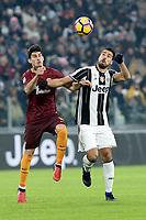 Diego Perotti Roma e Sami Khedira Juventus<br /> Torino 17-12-2016, Juventus Stadium, Football Calcio 2016/2017 Serie A, Juventus - AS Roma, Foto Massimo Pinca/Insidefoto
