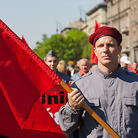 Workers' day march on May 1