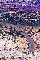 Overview of Highway 12, near Escalante, Utah USA