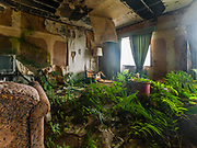 """The most beautiful abandoned looking hotel, once promoted as """"Hawaii of Japan""""<br /> <br /> The abandoned Oriental Resort Hotel (Hachijo Royal Hote) Hachijojima Island, Japan Though the island was once promoted as """"Hawaii of Japan,"""" the number of tourists has decreased over the years.<br /> <br /> The most beautiful abandoned looking hotel – this title goes to the Hachijo Royal Hotel, once the biggest hotel in all of Japan.<br /> <br /> The mid 1960s heralded in an era which saw Japanese tourists travelling abroad in substantial numbers for the first time. Prior 1964, the Japanese Government made it near impossible for the average Japanese to acquire a passport to travel overseas. As comparatively close destinations such as those in Asia and the Pacific were off limits during the earlier part of the decade, the tourism industry looked nearer to home to find an equivalent haven. Thankfully they didn't need to look too far with the Izu Islands sporting the subtropical volcanic island of Hachijo-jima 287 kilometres (178 miles) south of Tokyo. Short travel times by ferry and a readymade airport relinquished from Imperial Japanese Navy control meant the island could quickly scale up and handle large numbers of inbound tourists.<br /> <br /> Government attempts to promote the island as the """"Hawaii of Japan"""" resonated positively and soon the island saw a rapid influx of investment and property development. The largest among these was the lavish Hachijo Royal Hotel modelled on French Baroque architecture. Along with plaster renditions of Greek statues and ornate water fountains it stood proudly as a showcase of the economic boom taking place on the mainland. At the time of its opening in 1963 it was one of the largest hotels in Japan and attracted its cliental from the ever expanding Japanese middle class. The hotel complex was even audacious enough to embellish its then company's president Eiji Yasuda with his own statue alongside his prized horse.<br /> <br /> Fast forwar"""