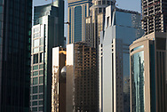 Modern architecture and buildings in Doha, Qatar