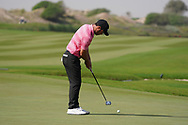 Jean-Baptiste Gonnet (FRA) on the 9th during Round 3 of the Oman Open 2020 at the Al Mouj Golf Club, Muscat, Oman . 29/02/2020<br /> Picture: Golffile   Thos Caffrey<br /> <br /> <br /> All photo usage must carry mandatory copyright credit (© Golffile   Thos Caffrey)