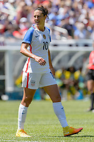 09 July 2016: United States midfielder Carli Lloyd (10) during an International Friendly Länderspiel soccer match between South Africa and USA at Soldier Field in Chicago, IL. USA won 1-0. (Photo by Daniel Bartel/Icon Sportswire) SOCCER: JUL 09 Women s - South Africa v USA <br /> Norway only