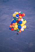 Unlike mountain climbing, cluster ballooning isn't strenuous, yet it's easy to get lightheaded in the clouds.