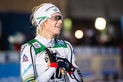 November 24, 2018 - Ruka, FINLAND - 181124 Maja Dahlqvist of Sweden after competing in a women's sprint classic technique semi final during the FIS Cross-Country World Cup premiere on November 24, 2018 in Ruka  (Credit Image: © Carl Sandin/Bildbyran via ZUMA Press)