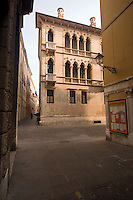 VICENZA, CENTRO STORICO, PALAZZO DA SCHIO DETTO CA' D'ORO, VENETO, ITALIA