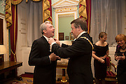 GILES HERDMAN; THE LORD MAYOR OF LONDON, The National Trust for Scotland Mansion House Dinner. Mansion House, London. 16 October 2013