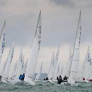 Championnat du monde de dragon - La Rochelle - Dragon - 80 bateaux