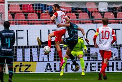 Mimoun Mahi of FC Utrecht, Ahmed Touba of RKC Waalwijk during eredivisie round 03 between FC Utrecht and RKC at Nieuw Galgenwaard stadium on September 27, 2020 in Utrecht, Netherlands