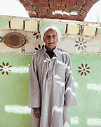 Moustafa El Shahat was injured sometime between 1943 and 1945 while grazing his goats near Abu Bedway Mountain. The unexploded ordnance exploded as Moustafa cleared the ground to make a fire. He lost his left hand and toes on his right foot were damaged by shrapnel.