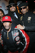 """l to r: top: Melle Mel and Kangol Kid at The Russell Simmons and Spike Lee  co-hosted""""I AM C.H.A.N.G.E!"""" Get out the Vote Party presented by The Source Magazine and The HipHop Summit Action Network held at Home on October 30, 2008 in New York City"""
