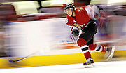 SLO / Ottawa / Feb 4, 2007...Chris Kelly skates the Fastest Skater comp during the 2007 Sens Skills Competition at the Scotiabank Place in Ottawa on Sunday Feb 4, 2007...(Ottawa Sun photo By Sean Kilpatrick)..