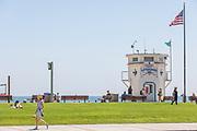 Main Beach Boardwalk in Downtown Laguna Beach
