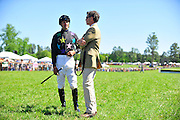 April 7, 2012 - Jacob Roberts and Neil Morris at Stoneybrook Steeplechase, Raeford NC