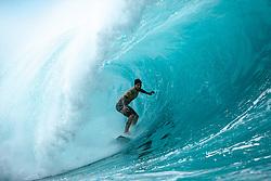 December 16, 2018 - Pupukea, Hawaii, U.S. - Gabriel Medina of Brazil won Heat 6 of Round 3 at the Billabong Pipe Masters. (Credit Image: © Ed Sloane/WSL via ZUMA Wire)