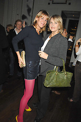 Left to right, IZZY WINKLER and her mother ULRIKA WINKLER at a party to promote The Landau at The Langham, Portland Place, London W1 on 7th February 2008.<br /><br />NON EXCLUSIVE - WORLD RIGHTS