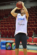 Danzica - Polonia 03 Agosto 2012 - Nazionale Italia Maschile Allenamento - <br /> Nella Foto : DANIELE CAVALIERO<br /> Foto Ciamillo
