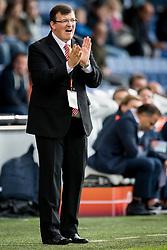 Coach Dainis Kazakevics during the EURO U21 2017 qualifying match between Netherlands U21 and Latvia U21 at the Vijverberg stadium on October 06, 2017 in Doetinchem, The Netherlands
