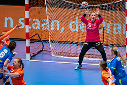 Yara ten Holte of Netherlands in action during the Women's friendly match between Netherlands and Slovenia at De Maaspoort on march 19, 2021 in Den Bosch, Netherlands (Photo by RHF Agency/Ronald Hoogendoorn)