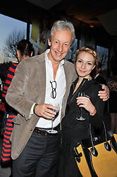 PERRY OOSTING and his daughter LYDIA OOSTING at the Vogue Festival Party 2013 in association with Vertu held at the Queen Elizabeth Hall, Southbank Centre, London SE1 on 27th April 2013.