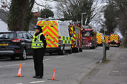 Persons trapped down mine, Charlestown<br /> <br /> Emergency services from SFRS, Scottish Ambulance, Police Scotland and Mine Rescue attended West Road, Charlestown, Fife after a report of someone trapped in old mine workings.<br /> <br /> (c) David Wardle   Edinburgh Elite media