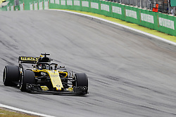 November 9, 2018 - Sao Paulo, Sao Paulo, Brazil - Nov, 2018 - NICO HULKENBERG - Renault, who suffered an accident early in the training. Free practice of Formula One Grand Prix Brazil at the José Carlos Pace racetrack (Interlagos) in the city of Sao Paulo. Sao Paulo, Brazil, November 9, 2018. (Credit Image: © Marcelo Chello/ZUMA Wire)